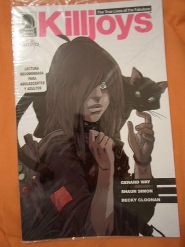 killjoys 1-6 80000 kamite comics!!! completa español latino