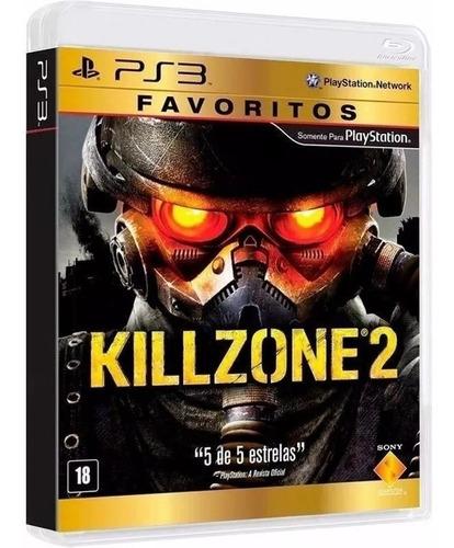 killzone 2 - midia fisica original e lacrado - ps3