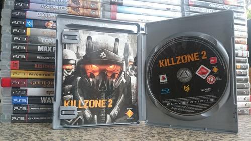 killzone 2 platinum edition ps3 midia fisica-frete r$10