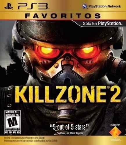 killzone 2 ps3 disco nuevo y sellado
