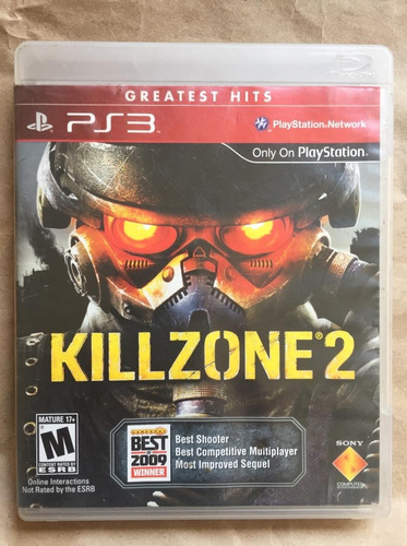 killzone 2 ps3. envíos todo chile