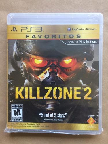 killzone 2 ps3. nuevo sellado, envíos