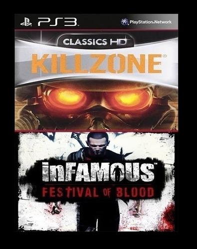 killzone + infamous festival of blood ~ ps3 digital español