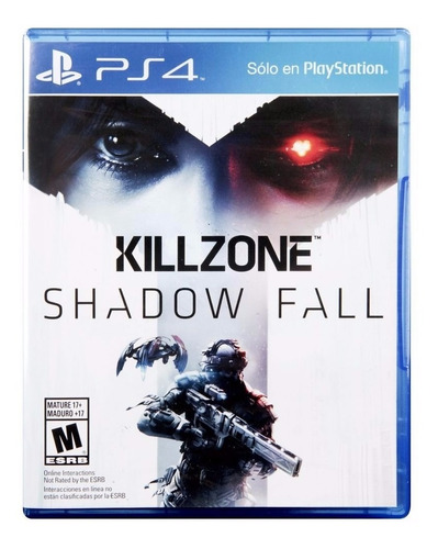 killzone shadow fall ps4 fisico sellado envío grátis