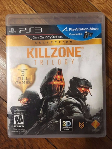 killzone trilogy ps3 envio gratis