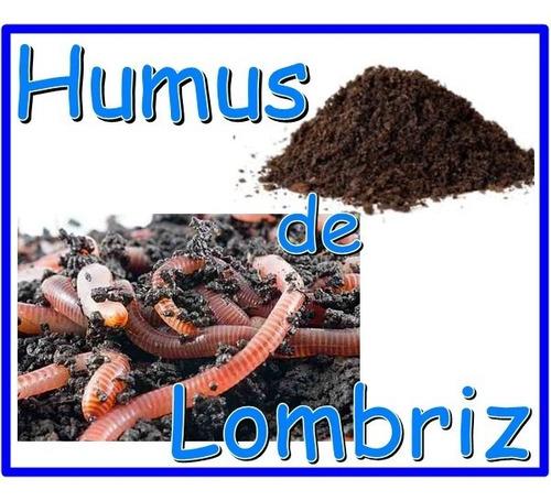 kilo de humus composta orgánico lombriz hidroponia sustrato
