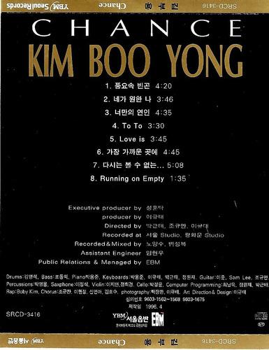kim boo yong - chance (importado)