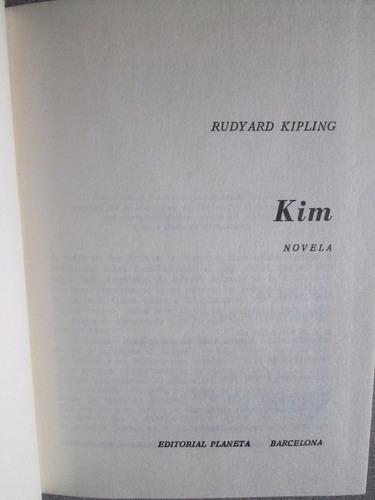 kim - rudyard kipling / editorial planeta