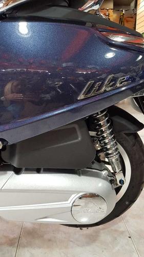 kimco like 150 i  abs tamburrino motos entrega inmediata