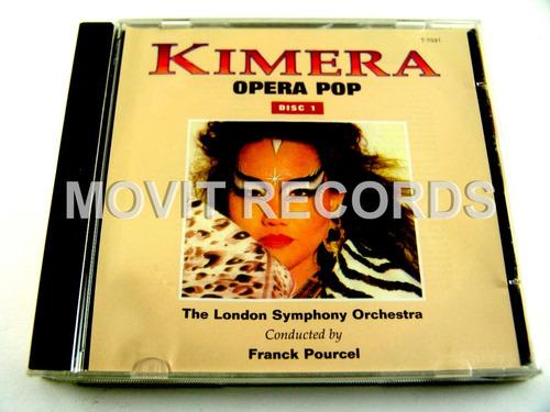 kimera opera pop london symphony pourcel 2 cd´s 1996