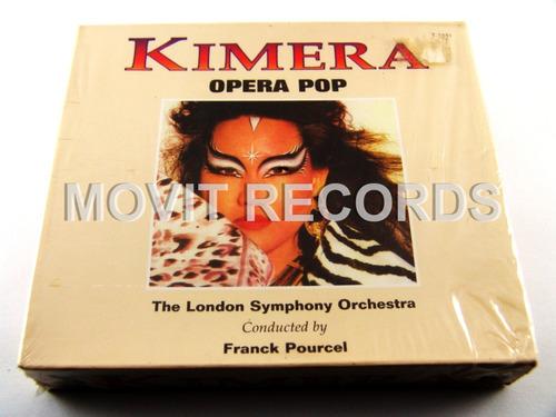 kimera opera pop london symphony pourcel 2 cd´s nuevos 1996