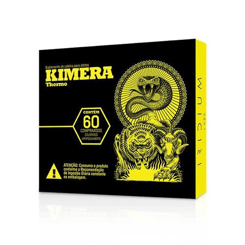 kimera thermo - termogênico - 60 caps - iridium labs