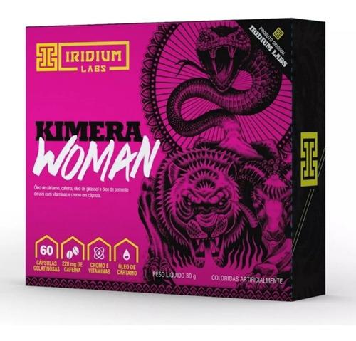 kimera woman 60 cápsulas emagrecedor - termogênico
