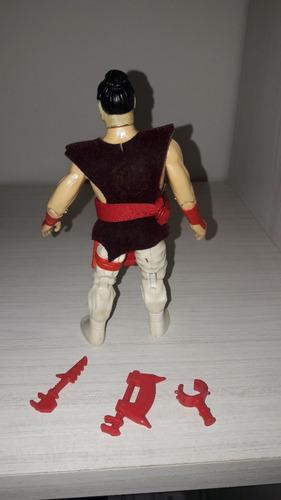 kimo - chuck norris - top toys- impecable completo - unico!
