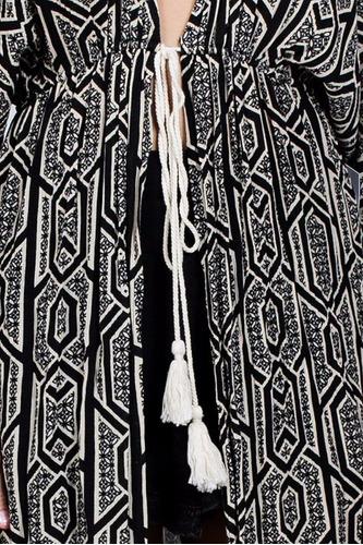kimono ark & co. largo con estampado