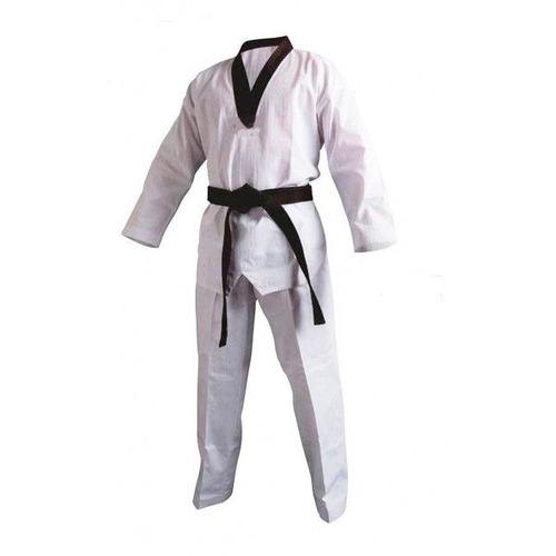 kimono blanco solapa negra talla 3,5  artes marciales