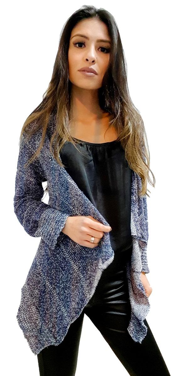 fd0bd917d kimono cardigan blusa trico tricot lã feminino inverno boho. Carregando  zoom.