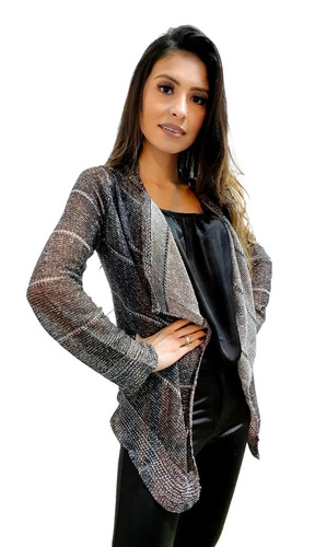 a40e0eaa5 Kimono Cardigan Blusa Trico Tricot Lã Feminino Inverno Boho - R  22 ...