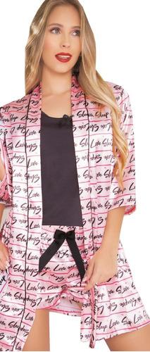 kimono de manga salida de mujer