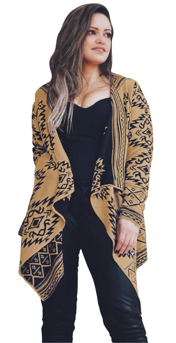 26043734e5c64c Kimono Feminino Tricot Casaco Trico Cardigan Inverno