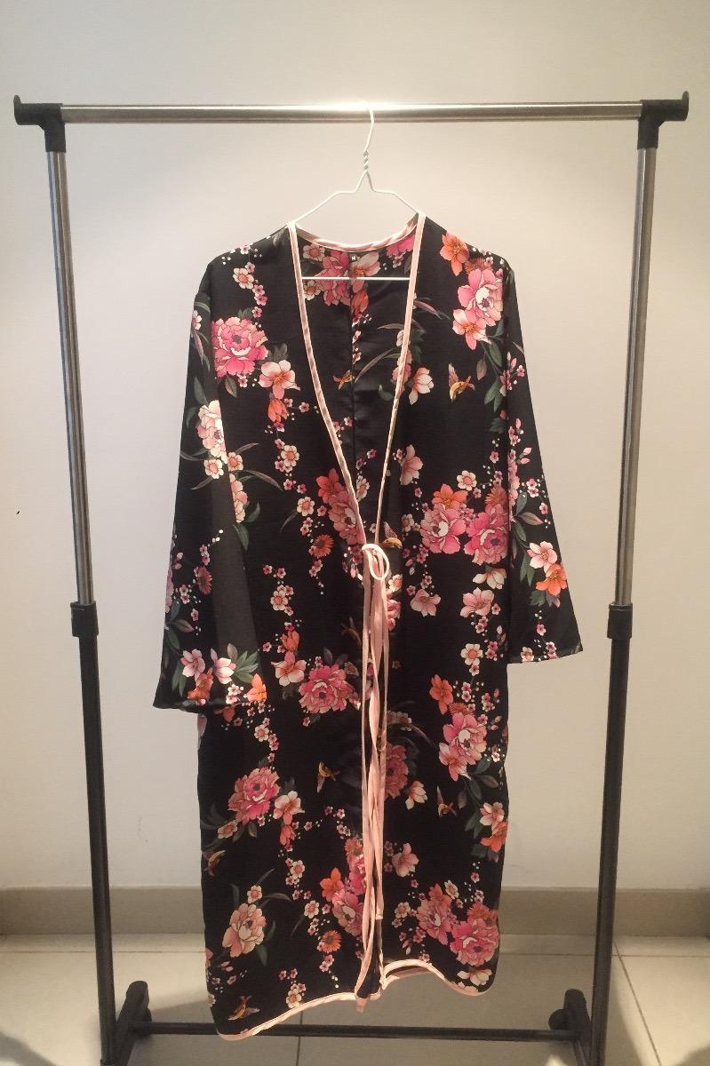 tienda liberar información sobre al por mayor online Kimono Floreado