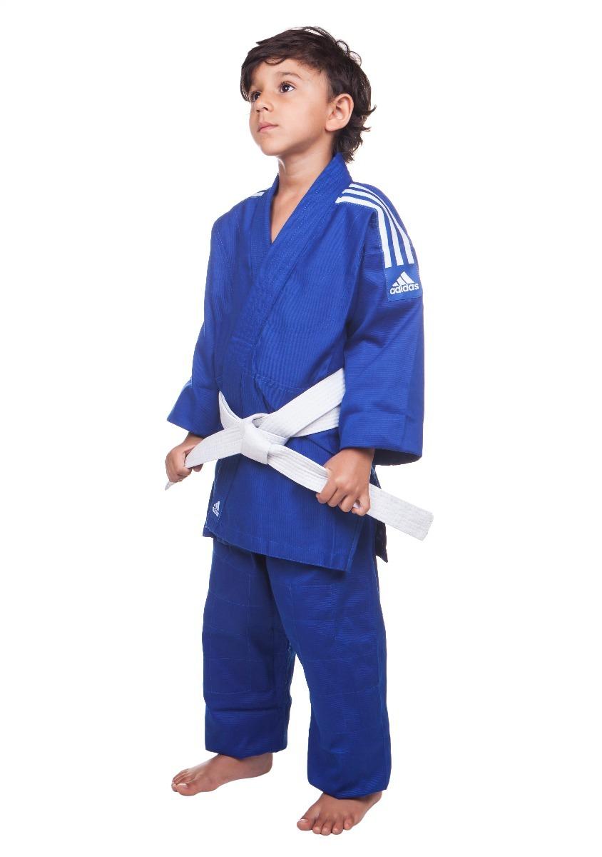 027cb85d614 kimono infantil adidas judo j200e - azul - 1.20m. Carregando zoom.