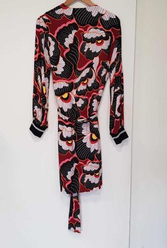 kimono jazmín chebar hermoso!!! nuevo, multicolor t1