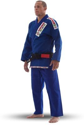 kimono jiu-jitsu azul( mma, vale tudo, submission, ufc)