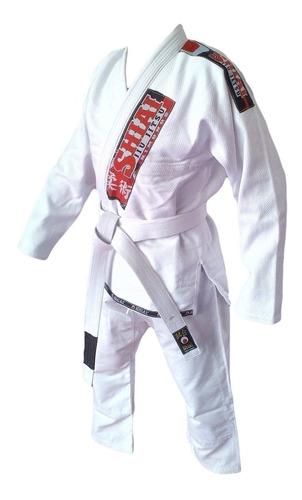 kimono jiu jitsu blanco azul negro shiai tokaido tramado bjj