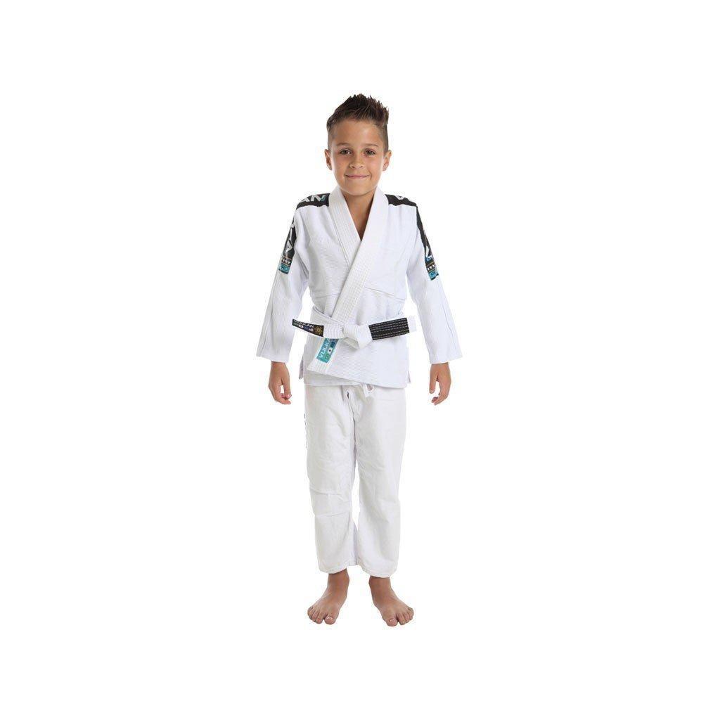 kimono jiu jitsu branco vkn pro vulkan - infantil. Carregando zoom. ece8b722e3a41