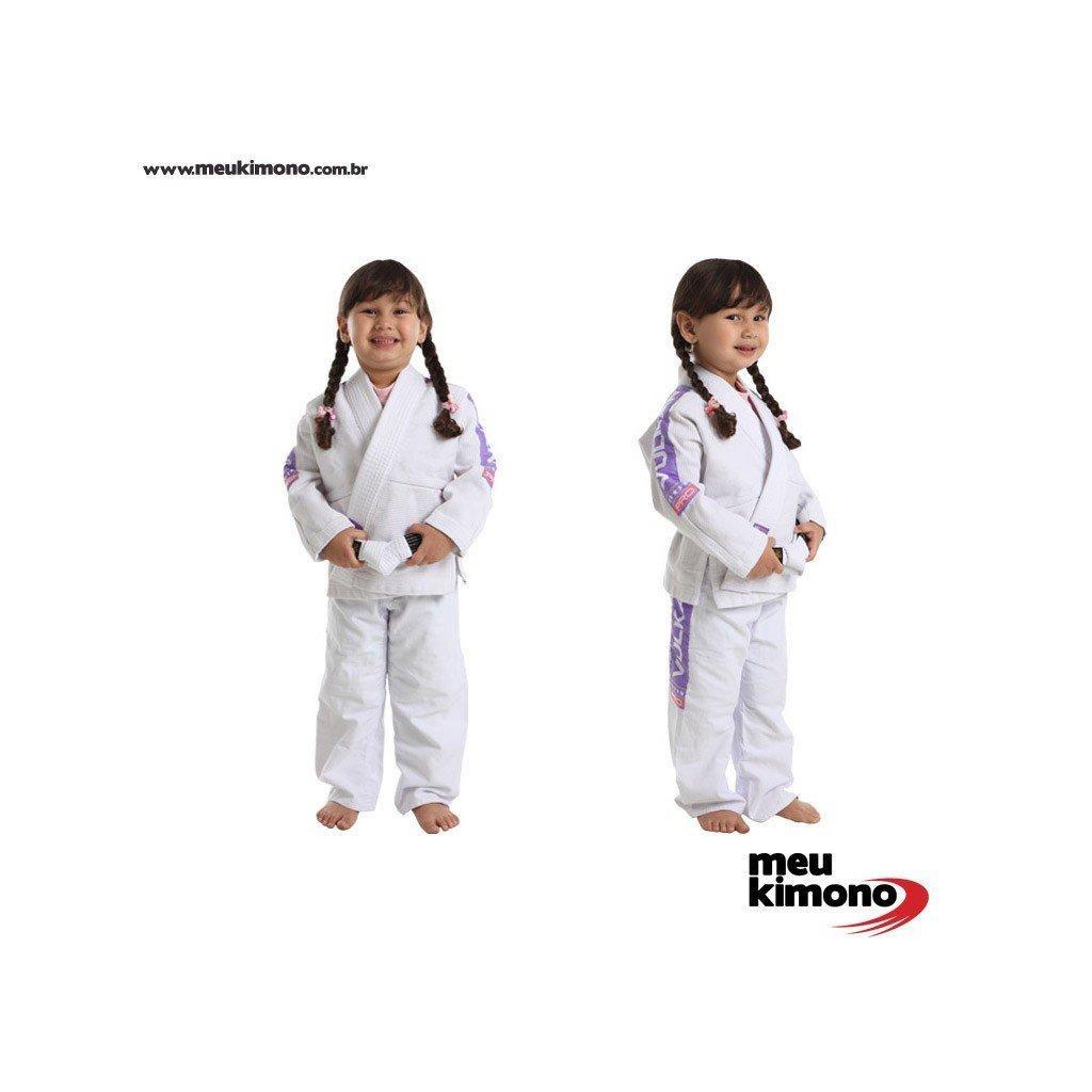 kimono jiu jitsu branco vulkan vkn pro - infantil feminino. Carregando zoom. 5b4a87ebd1c53