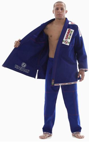 kimono jiu jitsu plus azul - adulto/ infantil