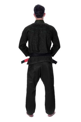 kimono jiu-jitsu stormstrong neon preto trançado