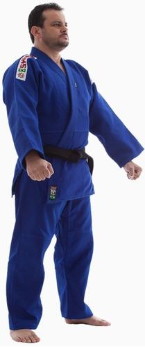 kimono judo gi standart azul