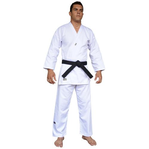 kimono karate adulto shinai start branco - original + nf