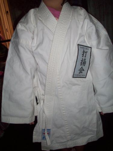 kimono karate blanco 35 mil soberanos tallla 2,5 niños