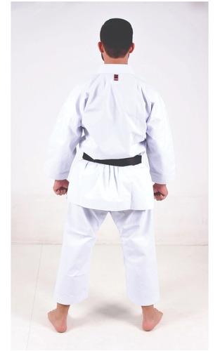 kimono karate lonita pa premium + chaveiro brinde