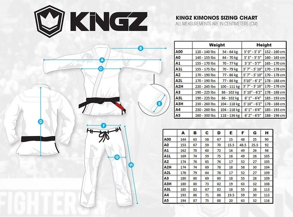 Kimono Kingz Basic 2.0 Jiu Jitsu Blanco Cinta Blanca Gratis ...