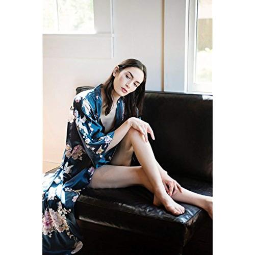 kimono largo de mujer shanghai long robe
