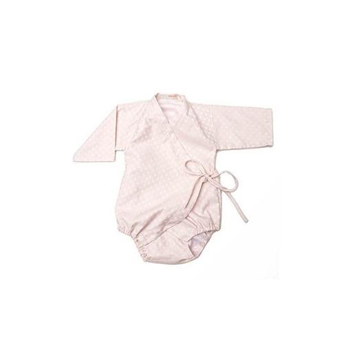 kimono onesie (pink dot)