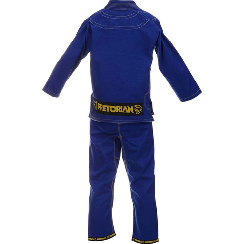 kimono pretorian jiu-jítsu training - infantil - azul - m1