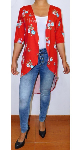 kimono sobretodo cola de pato cardigan mujer envío gratis