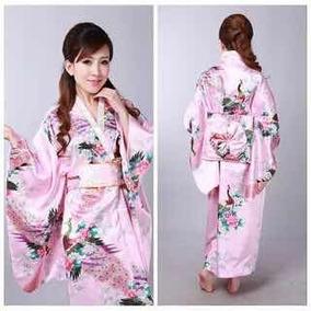 c14cd2384 Kimono Tradicional Japonés Yucata Envio Gratis