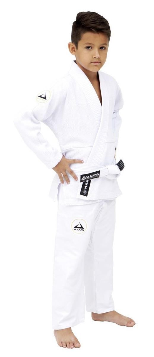 658c86c576626 Kimono Vulkan Jiu-jitsu Infantil - Neo Ultra Light Branco - R  205 ...