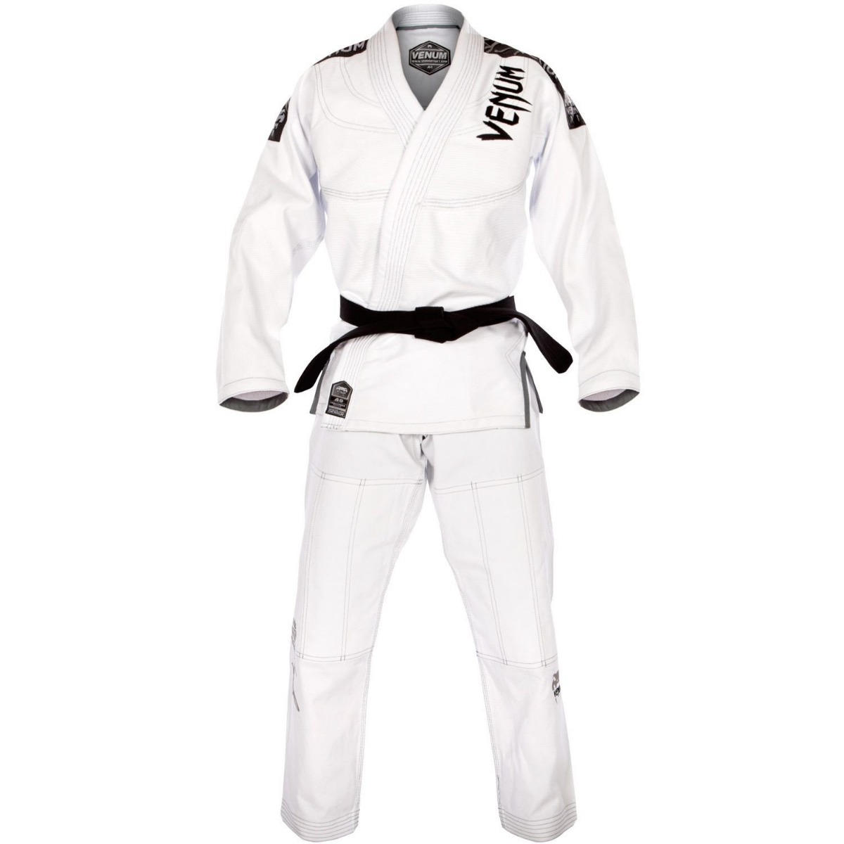 Kimono/gi Bjj Venum Challenger 3.0 Blanco/gris Mma Jiu Jitsu ...