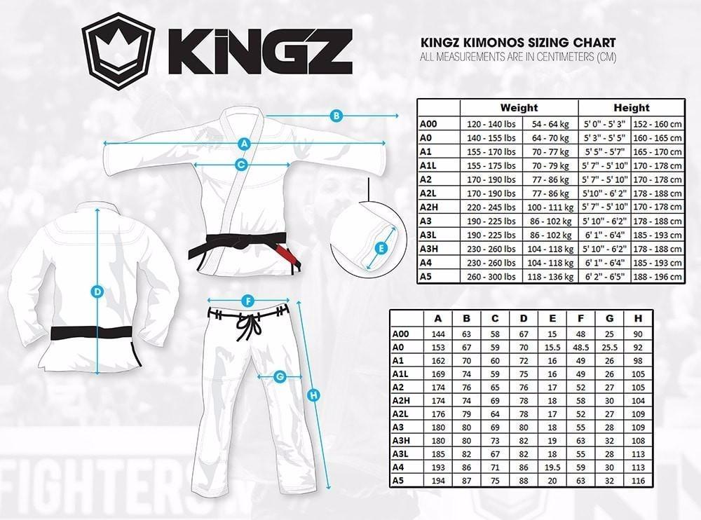 Kimonos Kingz Balistico 2.0 (a1) Negro - $ 3.750,00 en Mercado Libre