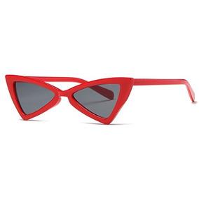 7691f727fc Kimorn Gafas De Sol Para Mujer Metal Bisagras Cat Eye Triang