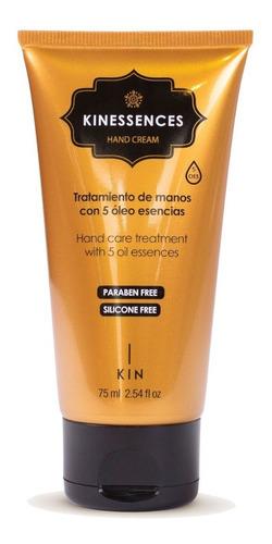 kin cosmetics kinessences oes hand cream 75ml