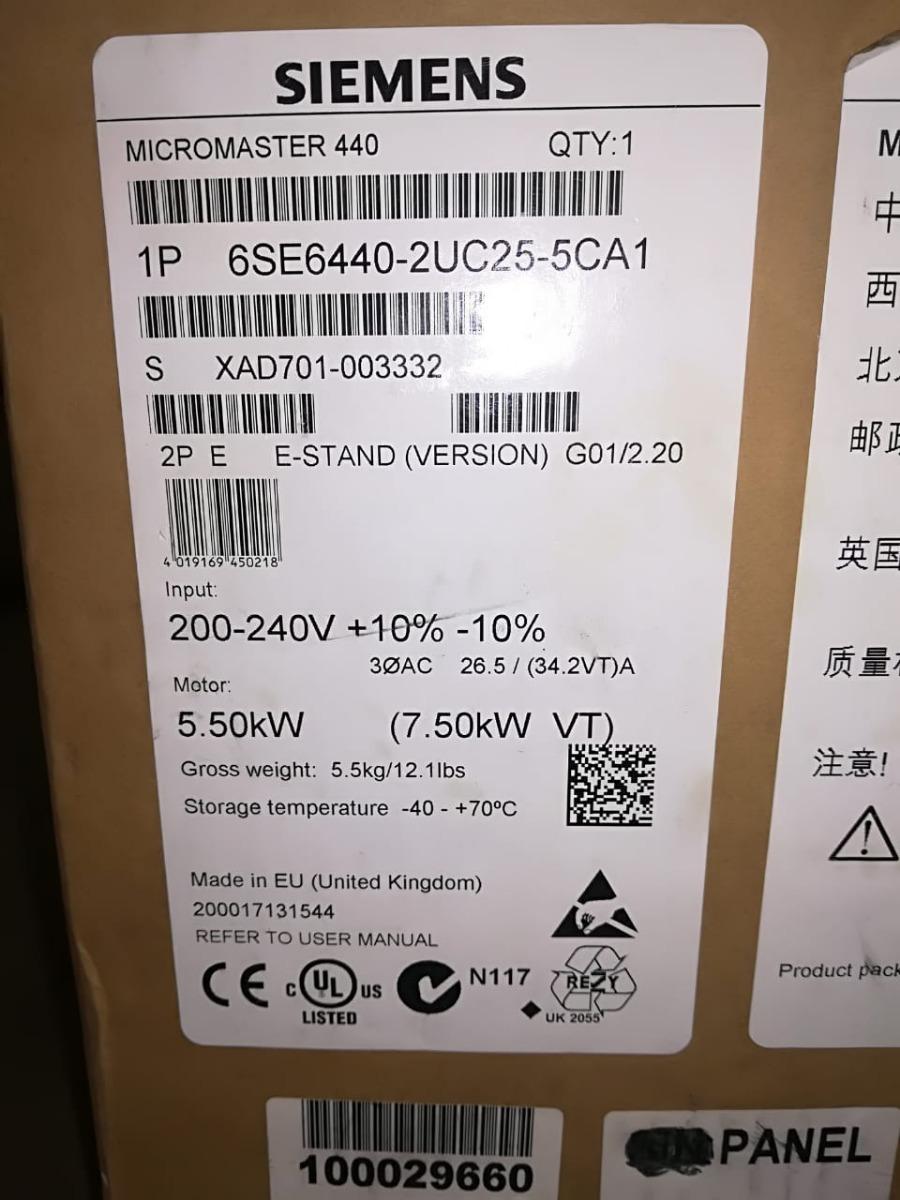 Kinco Kit Plc Y Variador De Frecuencia O Velocidad Siemens