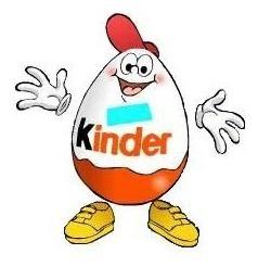 kinder ovo -calendoscópio - ( l 481)